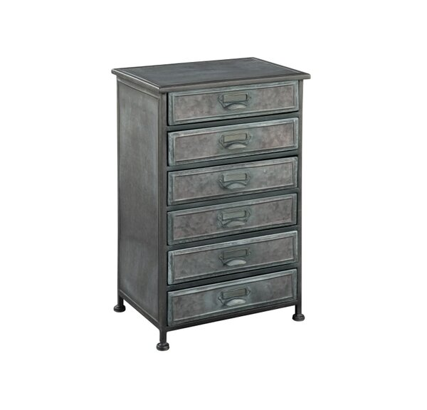 Yara 6 Drawer Accent Chest by 17 Stories