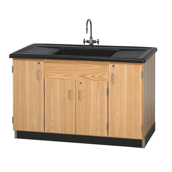 Clean Up Sink With Cabinets by Diversified Woodcrafts