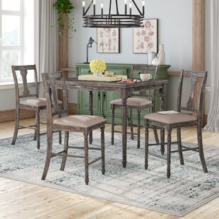 Parkland 5 Piece Counter Height Pub Table Set By Lark Manor