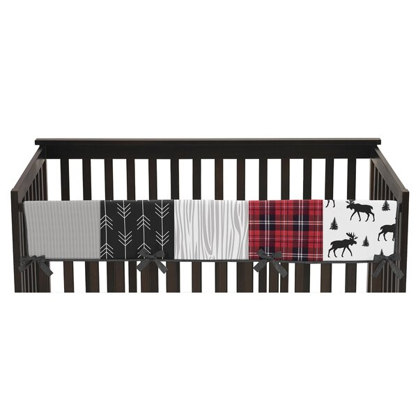 Rustic Patch Crib Rail Guard Cover by Sweet Jojo Designs