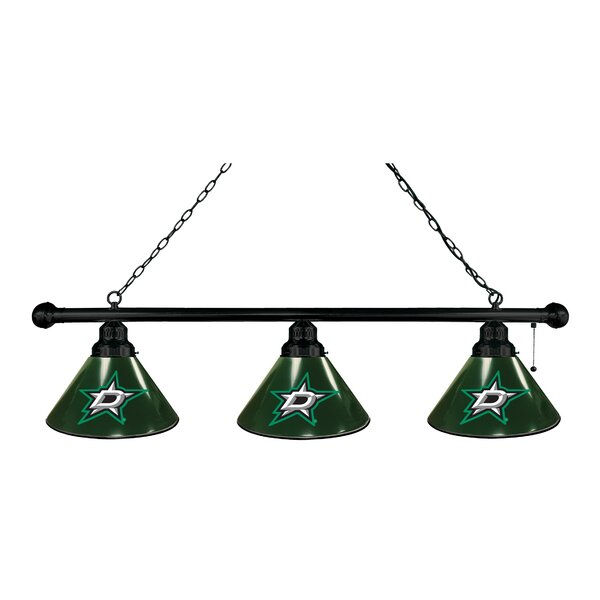 NHL 3-Light Kitchen Island Pendant by Holland Bar