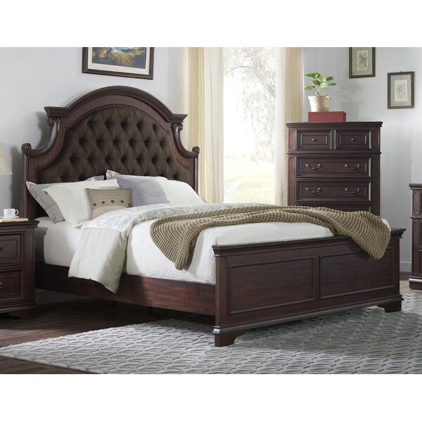Benedick Upholstered Standard Bed by One Allium Way