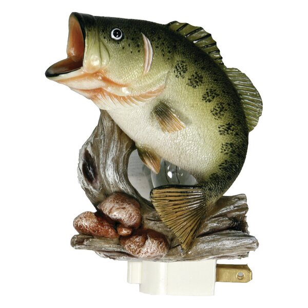 Bass 3D Night Light by River's Edge Products