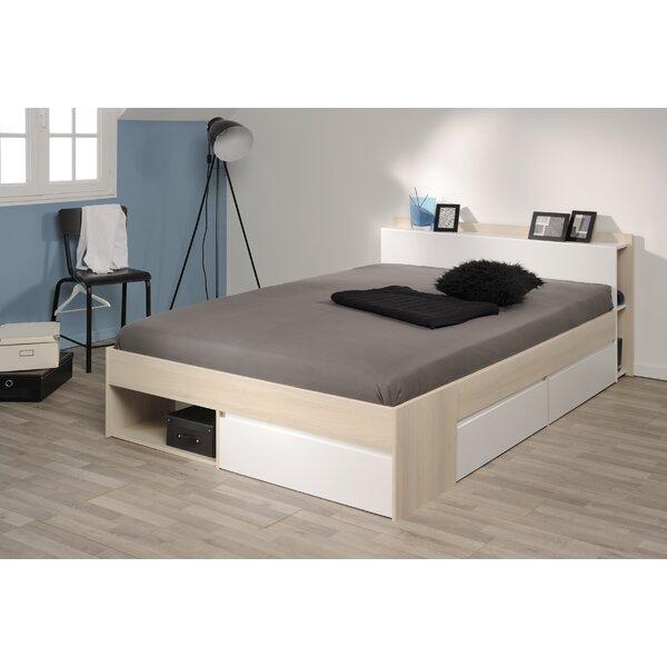 Most Storage Platform Bed by Parisot