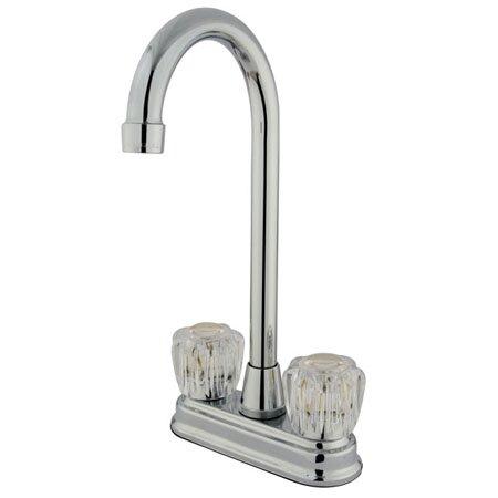 Magellan Double Handle Kitchen Faucet by Kingston Brass