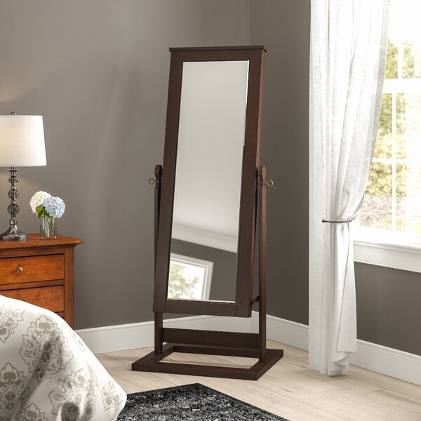 Cassell Jewelry Armoire with Mirror by Alcott Hill Alcott Hill