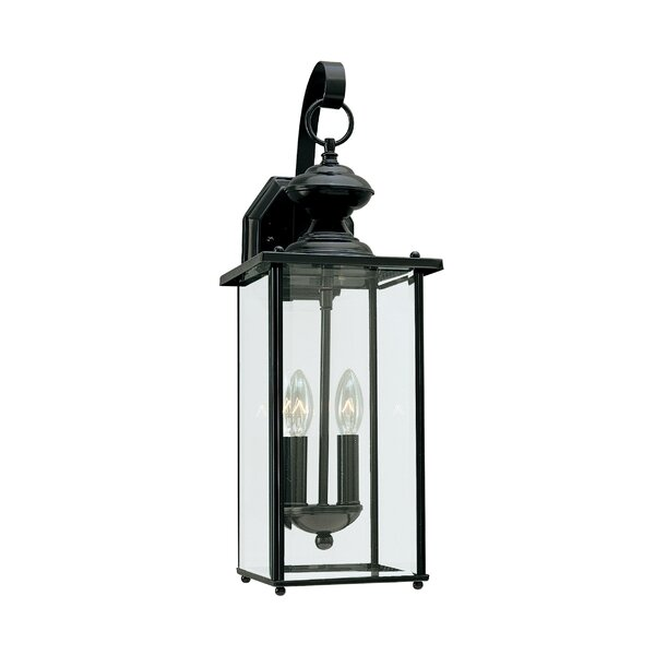 Verville 2-Light Outdoor Wall Lantern by Darby Home Co