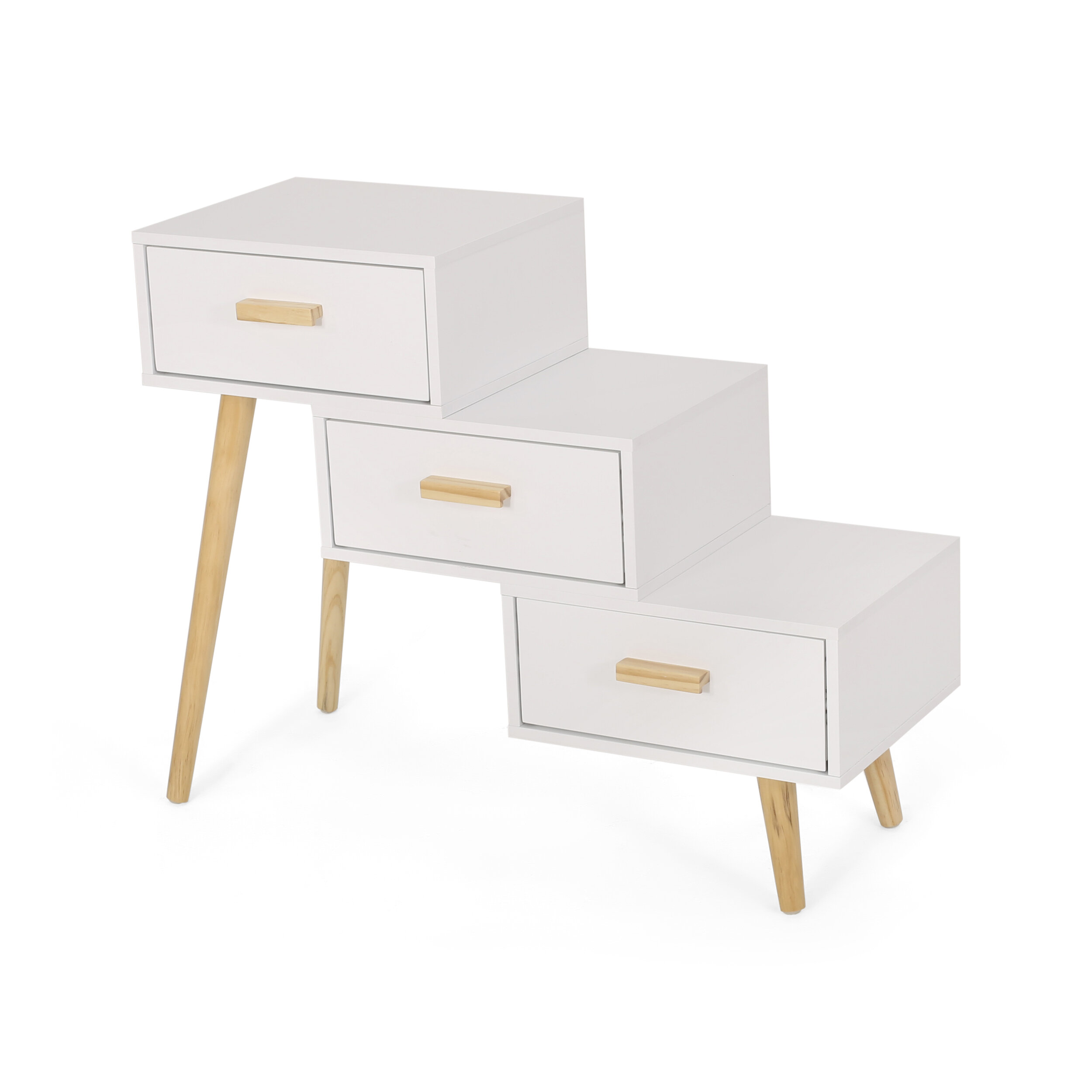 Corrigan Studio® Jonas 3 Drawer Accent Chest & Reviews | Wayfair