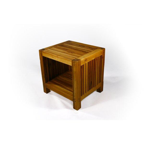 Pedrick Slat End Table by Union Rustic