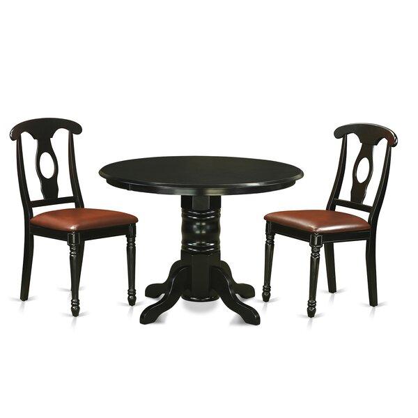 Sherlock 3 Piece Dining Set by August Grove