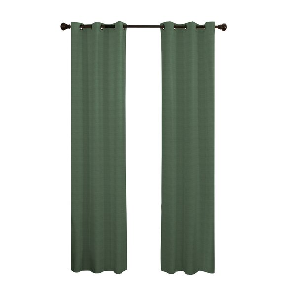 Andover Solid Blackout Thermal Grommet Single Curtain Panel by Andover Mills