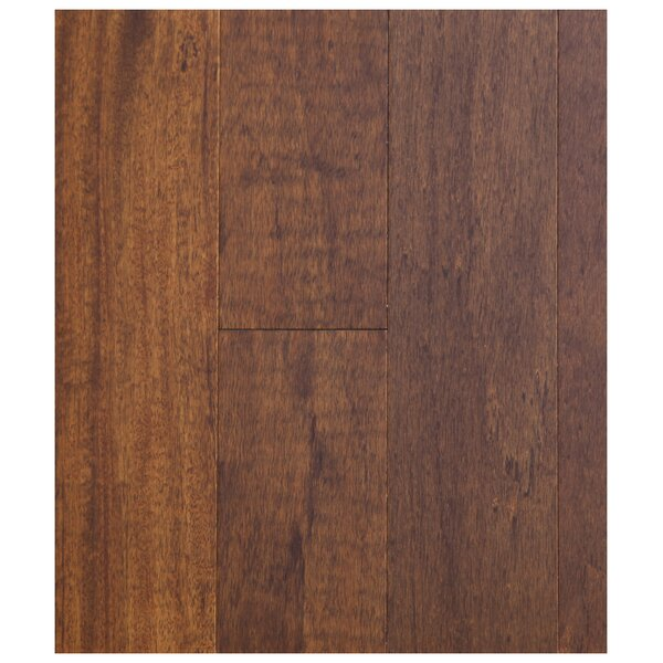 5 Engineered African Magnolia Hardwood Flooring in Latte by Easoon USA