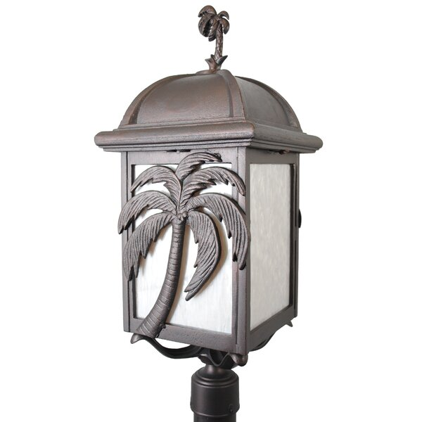 Penfield Palm Tree Series 3 Light 30 Post Lantern by Alcott Hill