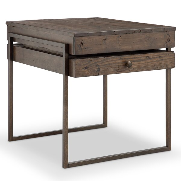 Drishya End Table by 17 Stories