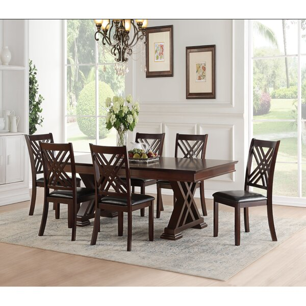 Rica 7 Piece Extendable Dining Set by Andrew Home Studio