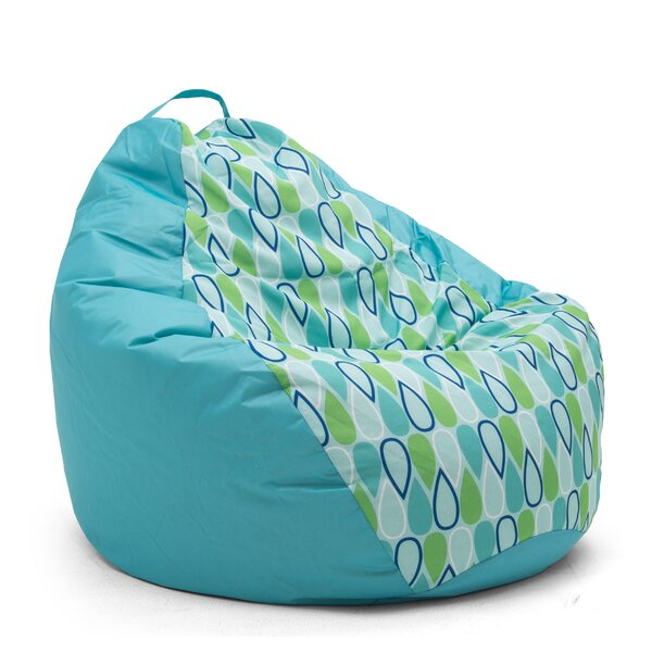Big Joe Outdoor Teardrop Geo Drop Bean Bag Chair by Comfort Research