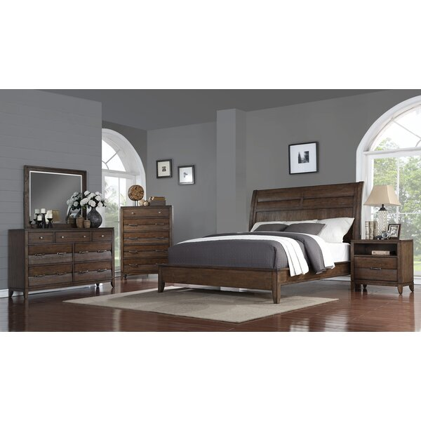 Rodriquez Queen Sleigh Configurable Bedroom Set by Union Rustic