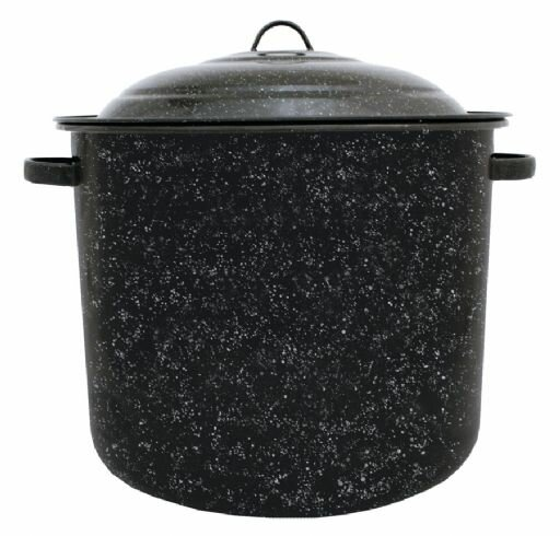 Graniteware Stock Pot with Lid by Granite Ware