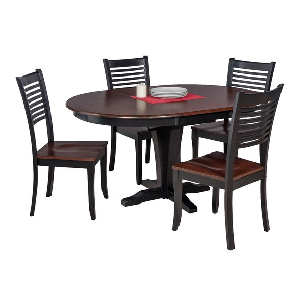 Maryrose 5 Piece Solid Wood Dining Set by Darby Home Co