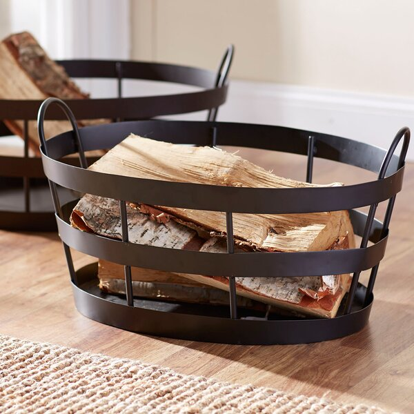 Bates Wrought Iron Basket by Birch Lane™