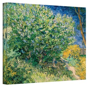 ''Lilacs'' by Vincent Van Gogh Painting Print on Canvas by ArtWall