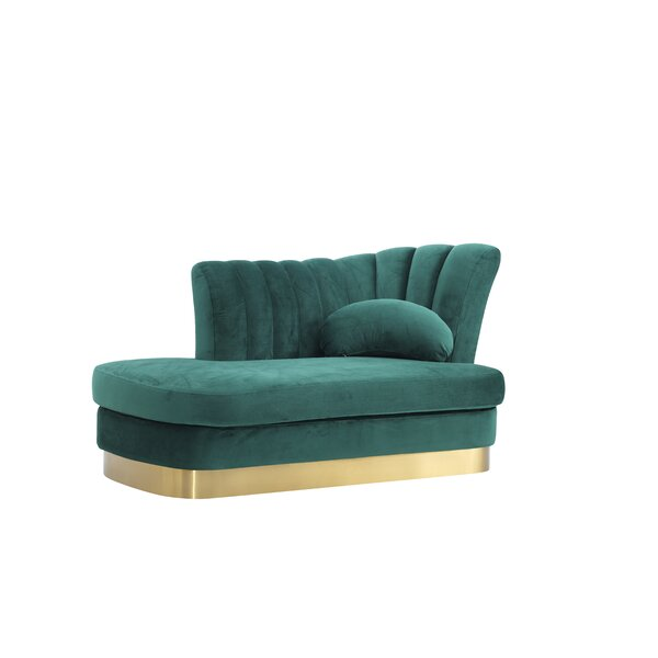 Peggie Modern Chaise Lounge By Everly Quinn
