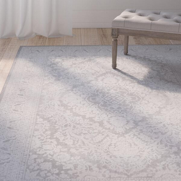Pellot Light Gray/Cream Area Rug by Lark Manor