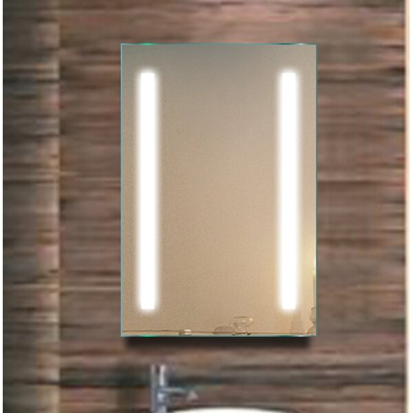 Riffle 20 x 30 Surface Mount Medicine Cabinet with LED Lighting by Orren Ellis
