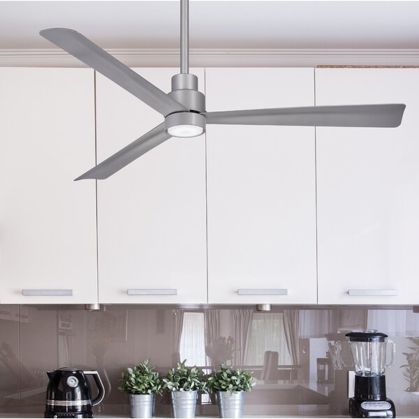52 Simple 3 Blade Ceiling Fan by Minka Aire