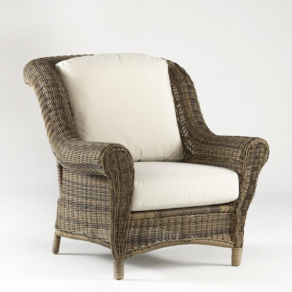Provence Deep Seating Chair with Cushion by South Sea Rattan