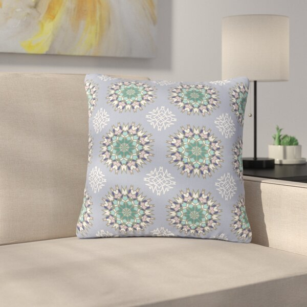 Nika Martinez Princess BW Vector Outdoor Throw Pillow by East Urban Home