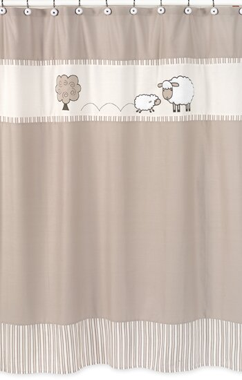 Little Lamb Shower Curtain by Sweet Jojo Designs