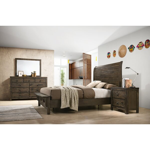 Shockley Sleigh Standard 6 Piece Bedroom Set by Union Rustic
