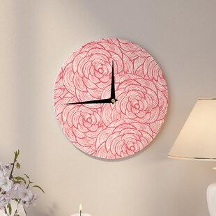 Roses' 12 Wall Clock by East Urban Home