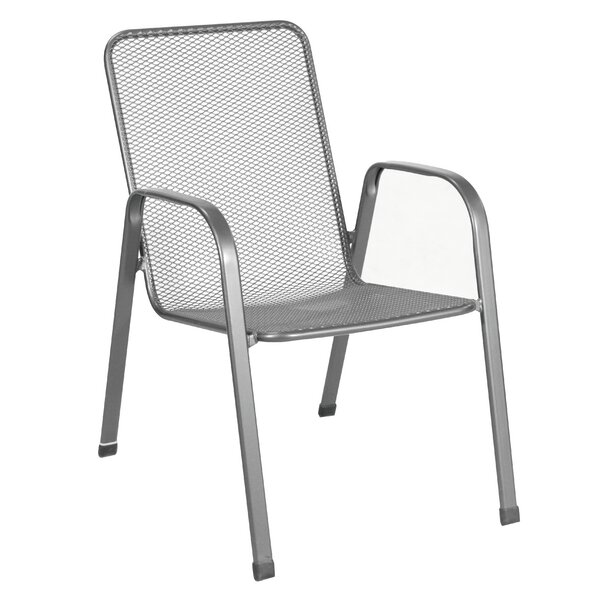 Verona Stacking Patio Dining Chair (Set of 4) by Royal Garden