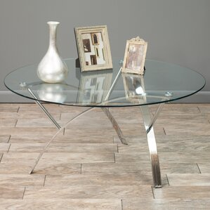 round coffee tables you'll love   wayfair