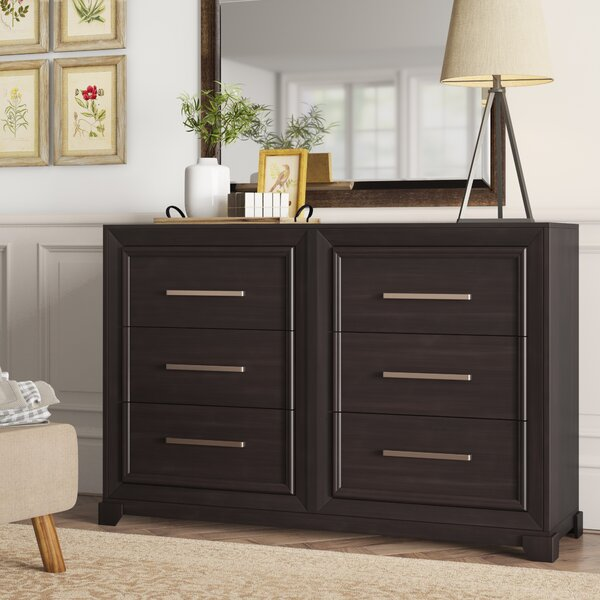 Bivins 6 Drawer Double Dresser by Ivy Bronx