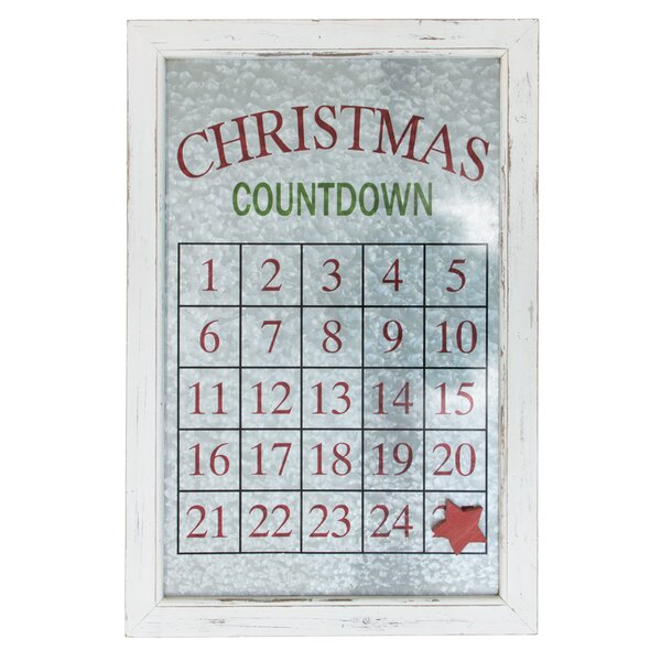 Magnetic Advent Calendar with Star Magnet by The Holiday Aisle