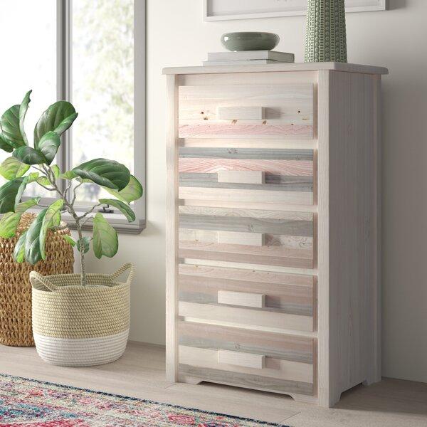 Abella 5 Drawer Standard Dresser/Chest by Loon Peak