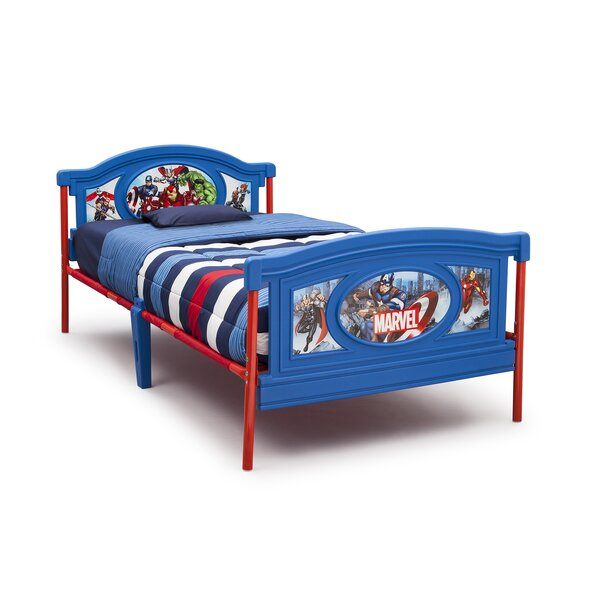 Avengers Twin Platform Bed by Delta Children