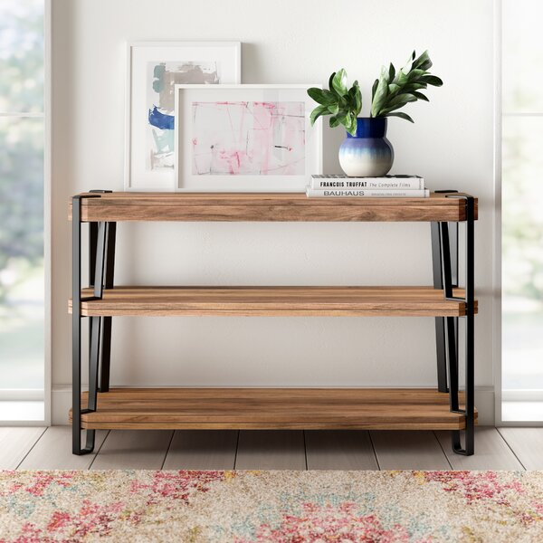 Tindal Solid Wood Console Table by Union Rustic Union Rustic
