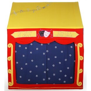 Price comparison Theatre 3.58' x 2.42' Playhouse ByWin Green