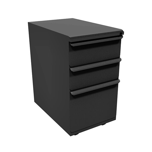 Zapf 3-Drawer Mobile Pedestal File Cabinet by Marvel Office Furniture