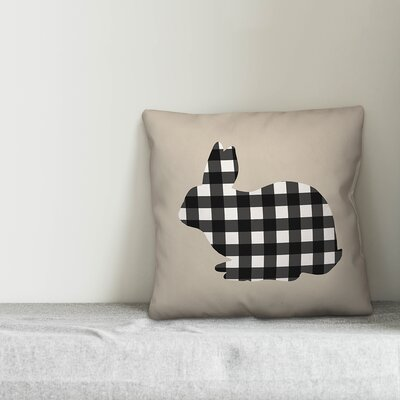 Alcorn Happy Easter Throw Pillow The