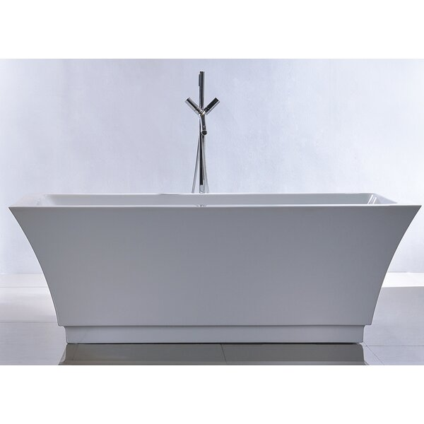 HelixBath Pergamon 67 x 31.5 Soaking Bathtub by Kardiel