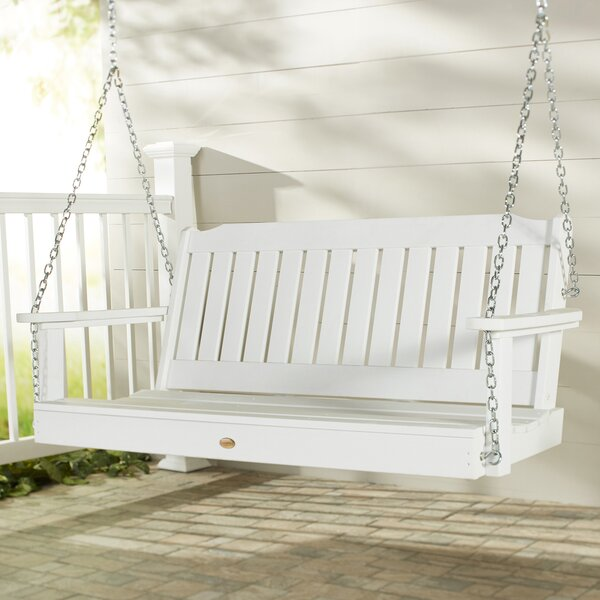 Amelia Porch Swing by Three Posts