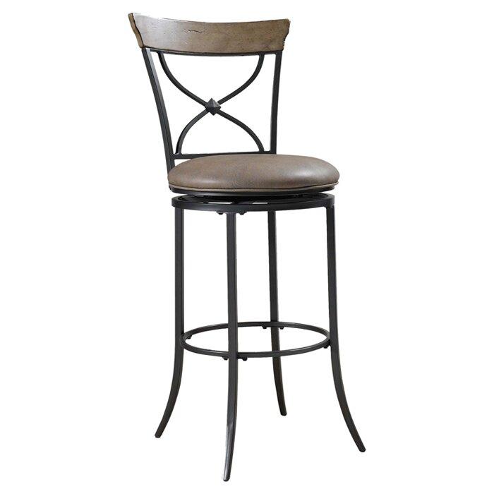 "Swivel Bar Chair hillsdale charleston 30"" swivel bar stool & reviews | wayfair"