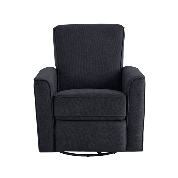 Coombs Upholstered Swivel Glider by Harriet Bee