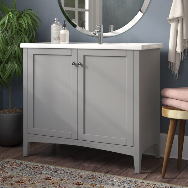 Aguilar 40 Single Bathroom Vanity Set by Mercury Row