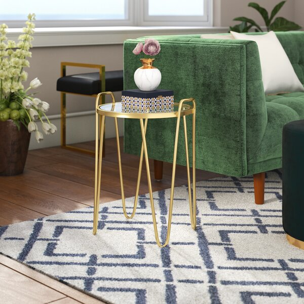 Rivenburg End Table by Willa Arlo Interiors